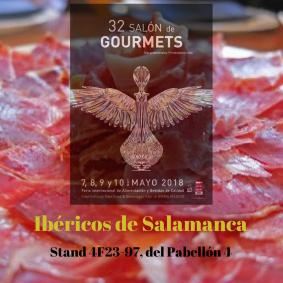 Ibericos de salamanca Salón Gourmets 2018