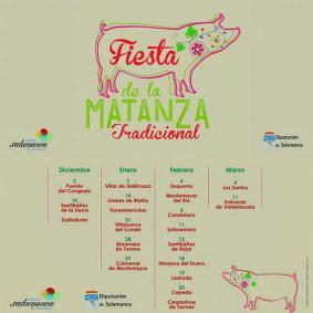 Fiesta de la Matanza tradicional salmantina 2017