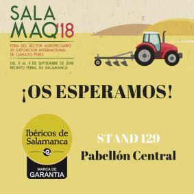 Ibericos de salamanca en Salamaq2018