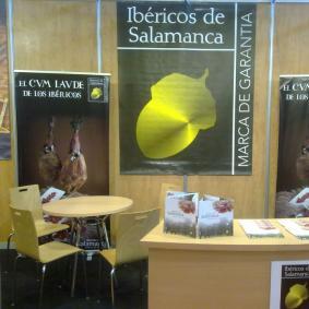 stand de ibéricos de Salamanca en Agromaq 2012